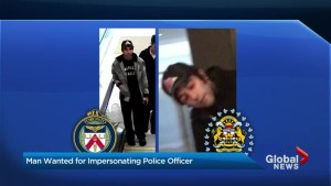 York Regional Police looking for suspect wanted for impersonating a police officer
